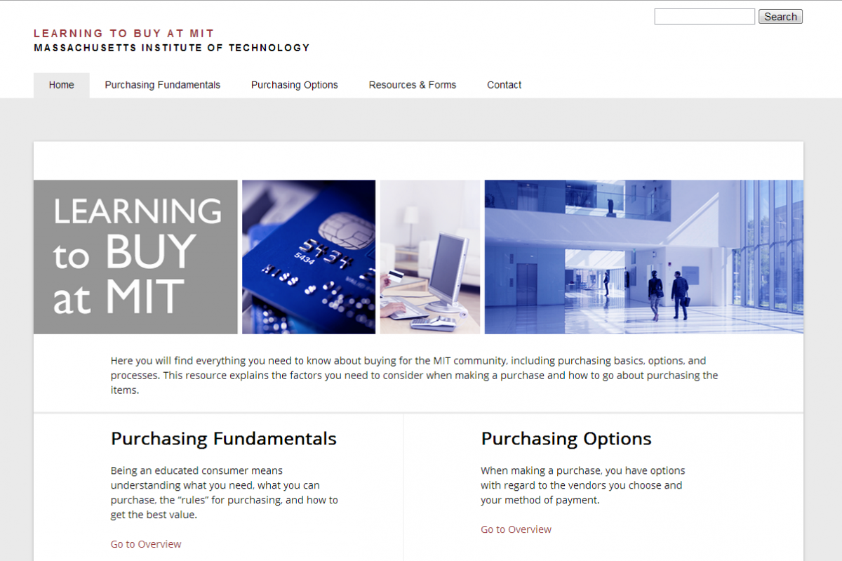 Learning To Buy at MIT screenshot